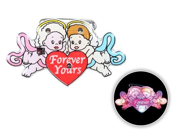 Blinki Anstecker Blinky Brosche Pin Button Engel Forever Yours 178