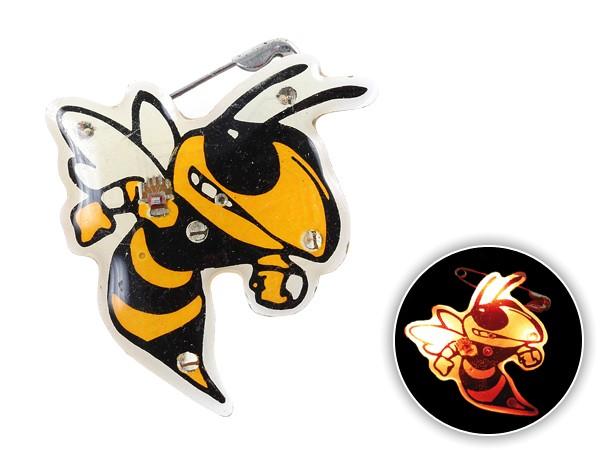 Blinki Anstecker Blinky Brosche Pin Button Biene 181