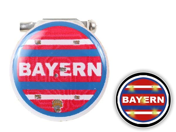 Blinki Anstecker Blinky Brosche Pin Button Bayern 162
