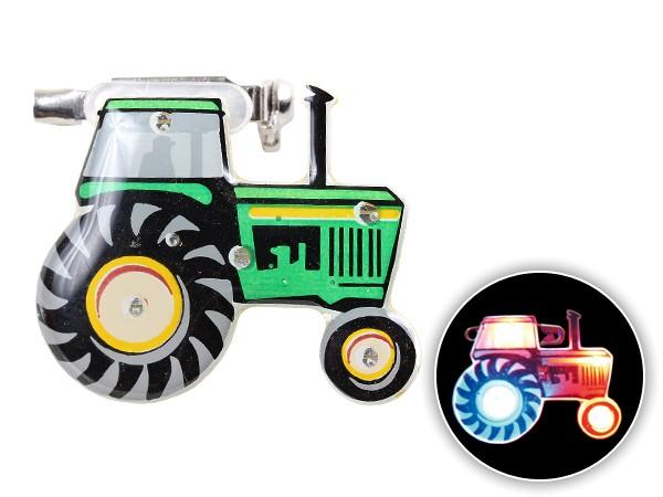 Blinki Anstecker Blinky Brosche Pin Button Traktor 190
