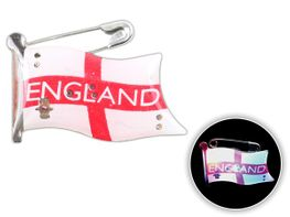 Blinki Anstecker Blinky Brosche Pin Button England Flagge 201