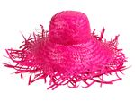 Trendy Strawhat Beachhat Partyhat pink SH-26