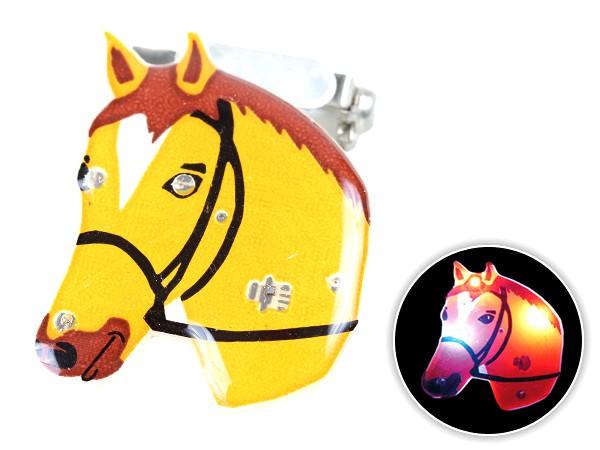 Blinki Anstecker Blinky Brosche Pin Button Pferdekopf 10