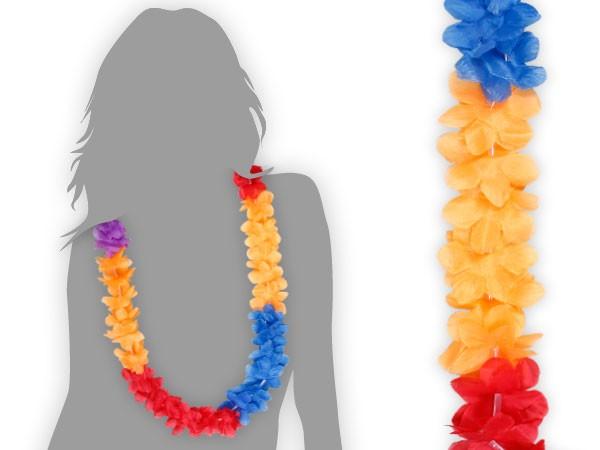 Hawaiiketten Blumenketten Hula Hawaii Kette mehrfarbig – Bild 13