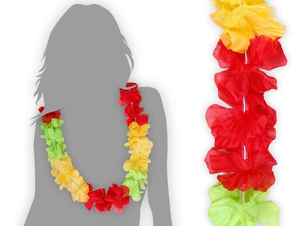 Hawaiiketten Blumenketten Hula Hawaii Kette mehrfarbig – Bild 9
