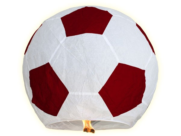 **NEU**Himmelslaternen Skylaternen als Fußball – Bild 3