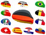 2 pcs countries car mirror flag mirror coating exterior mirror flag