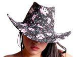 Chapeau de cowboy Wild West Western country mexicain (CW-35) taille unique pour adulte en feutre de qualité supérieure lux très classe l'accessoire festif idéal pour fête théâtre festival carnaval