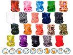 Halstücher in verschiedenen Farben