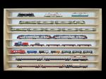 Alsino V-43 Wall Showcase Collector`s Display Wood Cabinet Case Model Railway Display Case