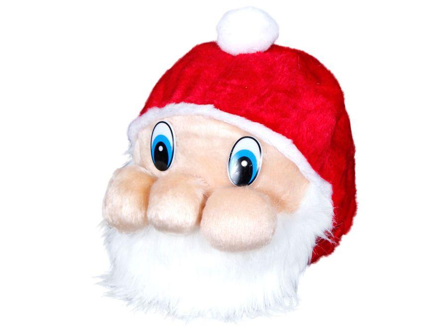 Weihnachtsmütze Nikolausmütze 3D Weihnachtsmann wm-87