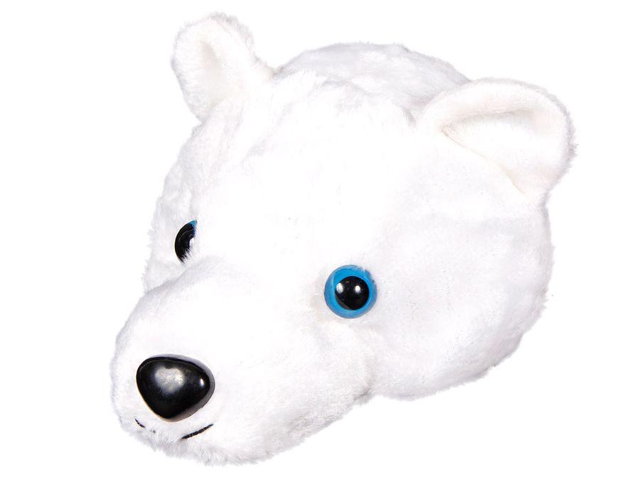 Weihnachtsmütze Nikolausmütze weißer 3D Eisbär wm-85