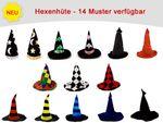 Chapeaux de sorcière couleurs différentes