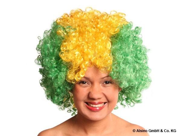 Afro Perücke im Strubbel Look – Bild 3