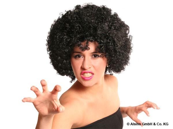 Afro Perücke im Strubbel Look – Bild 11