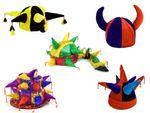 Chapeau de bouffons de carnaval