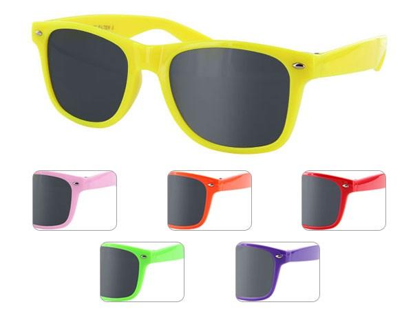 Farbige Retro Atzenbrillen Sonnenbrille V-816F