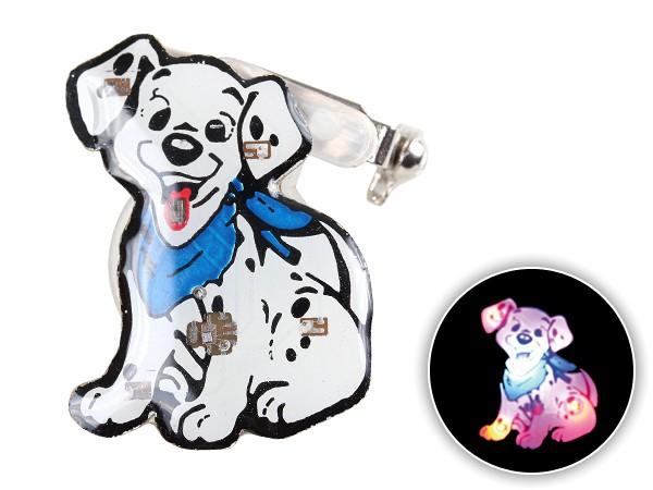 Blinki Anstecker Blinky Brosche Pin Button Dalmatiner 75