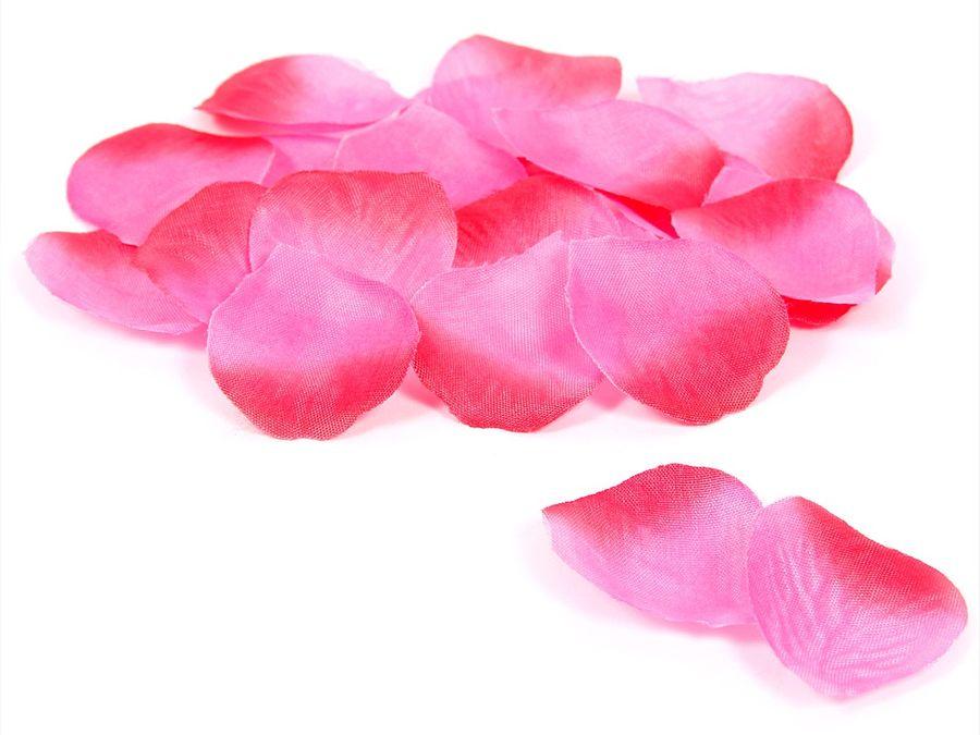100 Stück künstliche Rosenblätter in verschiedenen Farben – Bild 4