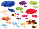Pétales de roses ~ Environ 100 Pièces toutes les couleurs