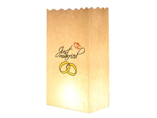 Lichttüten Candle Bags - 10er Set mit Motiv – Bild 2