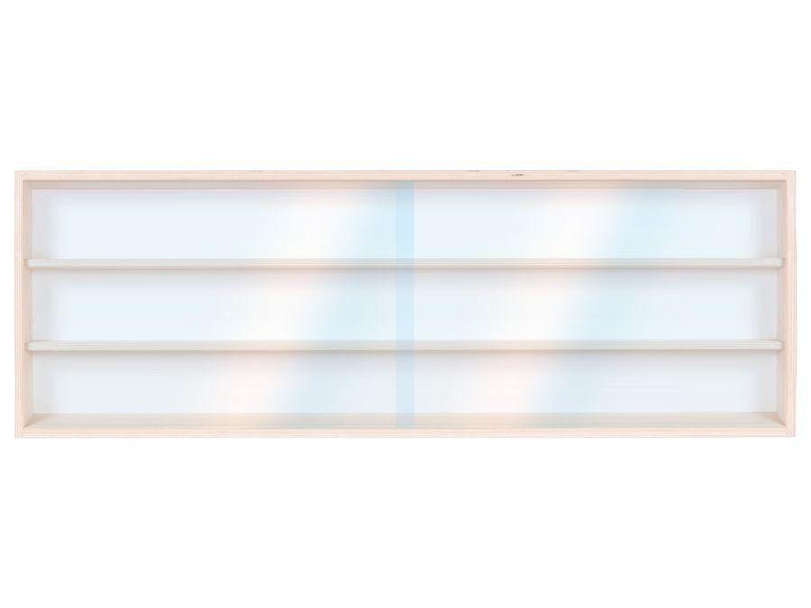 V100.3 Vitrine Spur HO & N , Regal H0 100 cm 3 Fächer