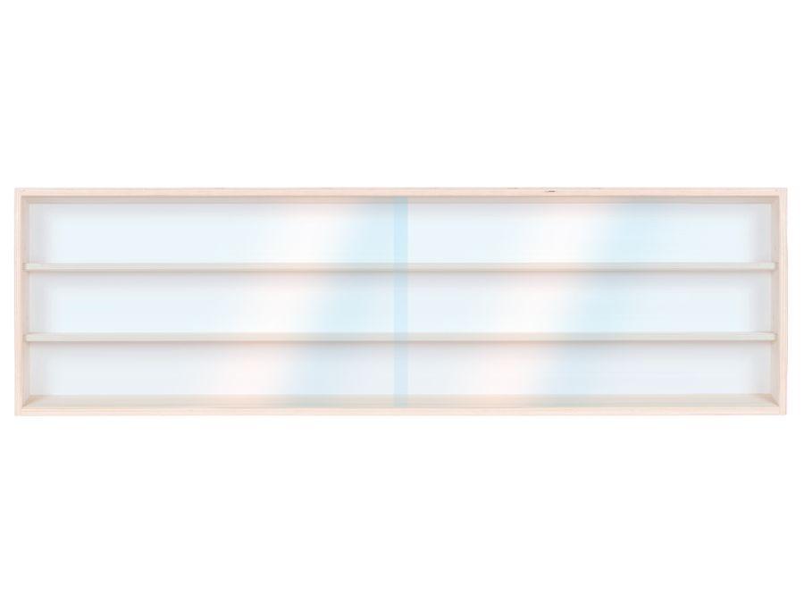V150.3 Vitrine Spur HO & N, Regal H0 150 cm 3 Fächer