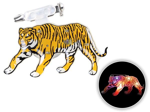 Blinki Anstecker Blinky Brosche Pin Button Tiger 86