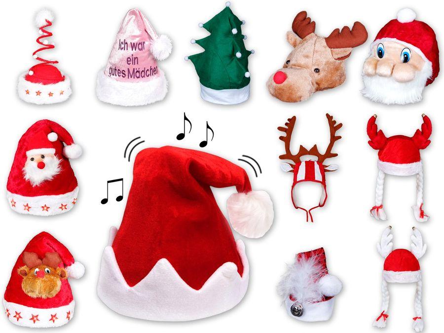Lustige Weihnachtsmützen