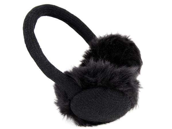 Ohrwärmer gestrickt Ohrenschützer Plüsch Earmuffs – Bild 17