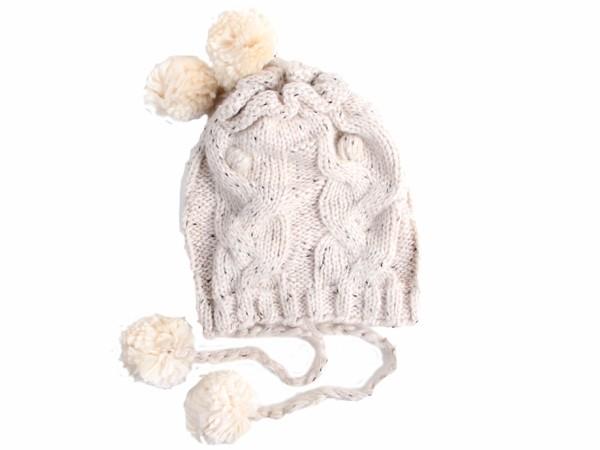 Wollmütze Strickmütze Wintermütze Beanie Mütze Schirmmütze