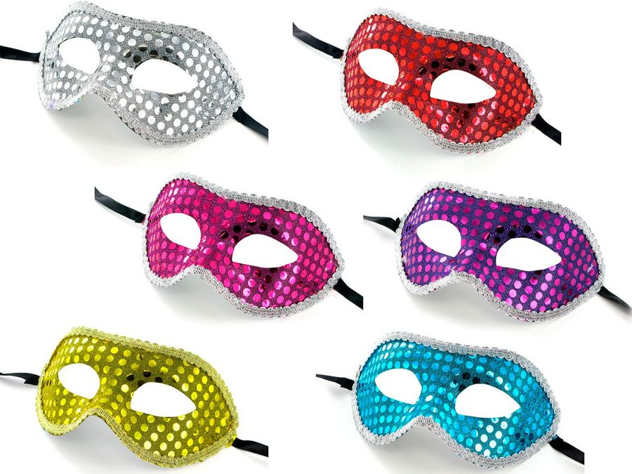 Die venezianische Maske ist das Highlight und ein Muss für Karneval und Fasching.