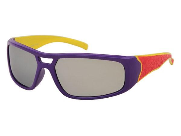 Sportliche Kinder Sonnenbrille silber verspiegelt Viper K-77 – Bild 5