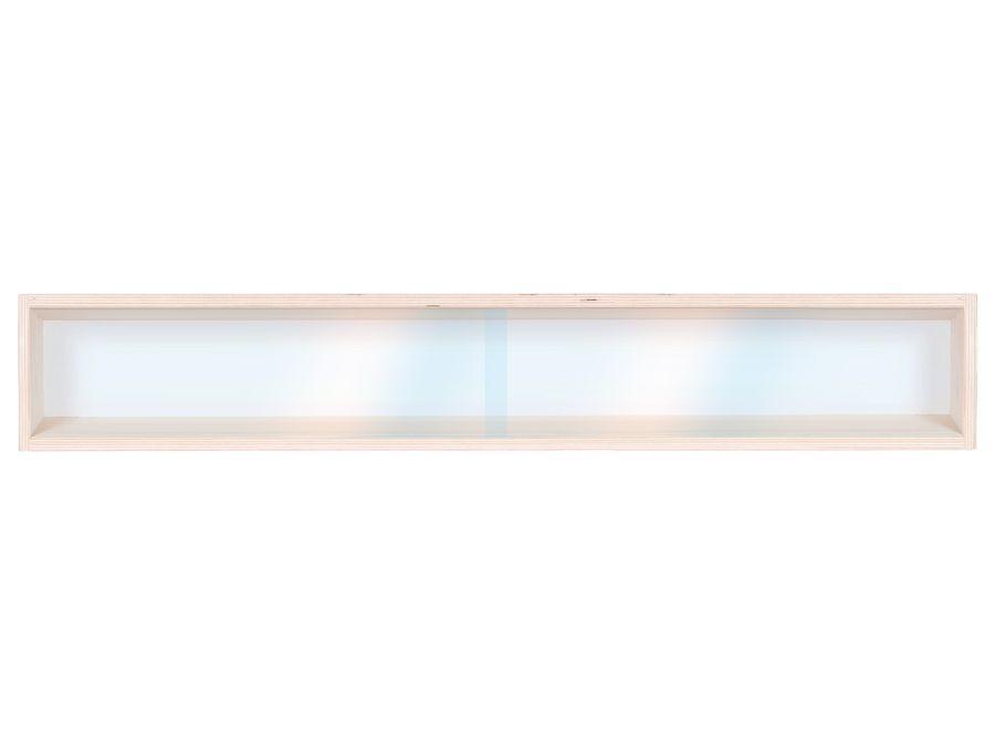 V70.1 Vitrine Spur HO & N Regal H0 70 cm 1 Fach