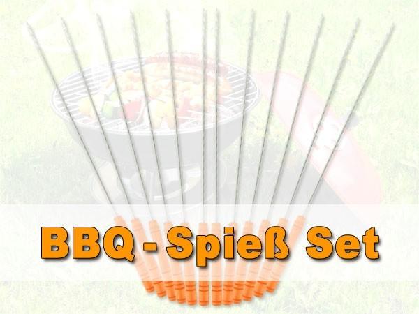 Spießset für Grill BBQ Set Spieße set Grillzubehör Barbecue Spießset 06/07