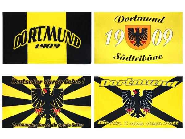 Dortmund Fahne Meisterfahne Flagge Dortmundfahne Hissfahne Zimmerfahne
