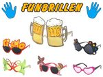 Fun Party Glasses for Adults Accessory for Fancy Dress Costume Carnival New year Theme Party Birthday from Alsino