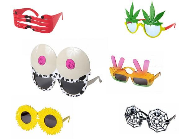 Verrückte Partybrillen