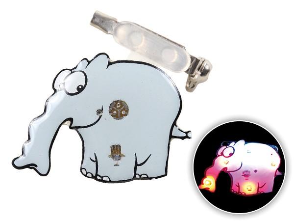 Blinki Anstecker Blinky Brosche Pin Button Ottifant 121