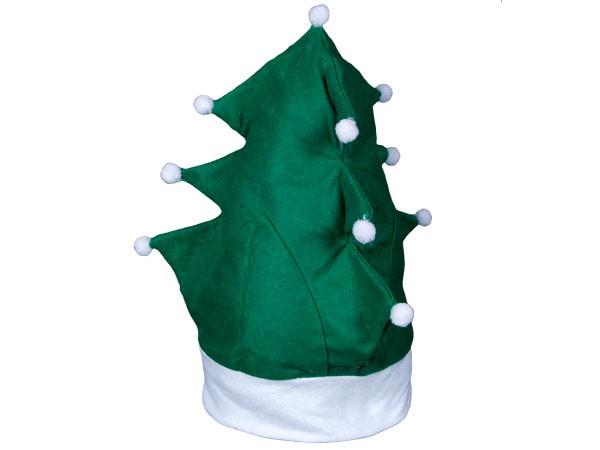 Weihnachtsmütze Nikolausmütze Tannenbaum Weihnachtsbaum grün 113