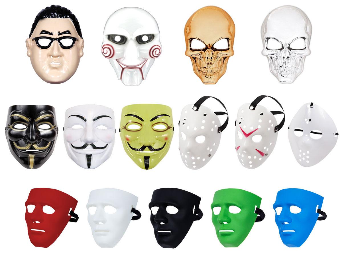 Vendetta Halloween Saw Karneval Fasching Totenkopf Horror Maske Skull Kostüm
