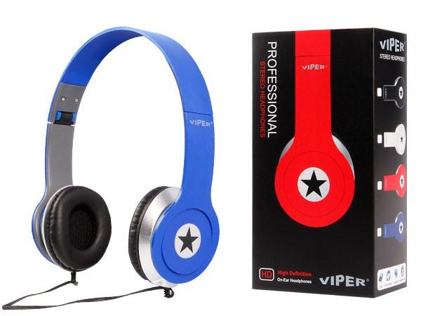 Alsino Viper Stereo Musik Kopfhörer InEar Kopfhörer MP3 Phone Headphone Stern – Bild 5