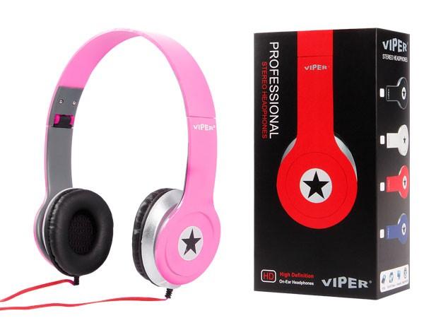 Alsino Viper Stereo Musik Kopfhörer InEar Kopfhörer MP3 Phone Headphone Stern – Bild 7