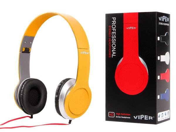 Alsino Viper Stereo Musik Kopfhörer InEar Kopfhörer MP3 Phone Headphone Stern – Bild 24