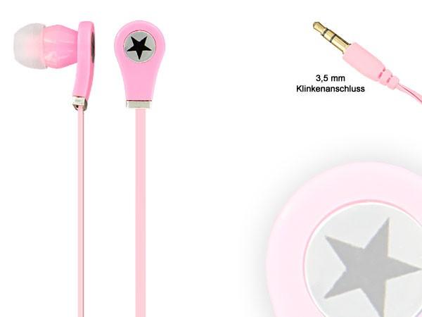 Alsino Viper Stereo Musik Kopfhörer InEar Kopfhörer MP3 Phone Headphone Stern – Bild 20