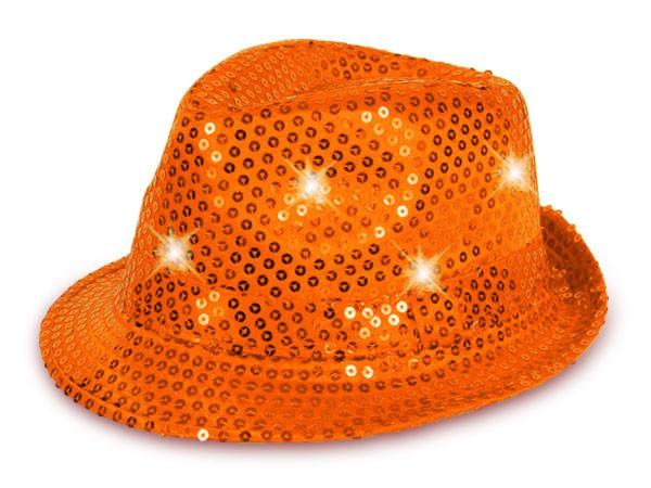 LED Trilby Hut mit Pailetten – Bild 14