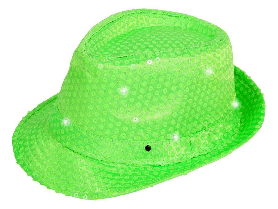LED Trilby Hut mit Pailetten – Bild 15