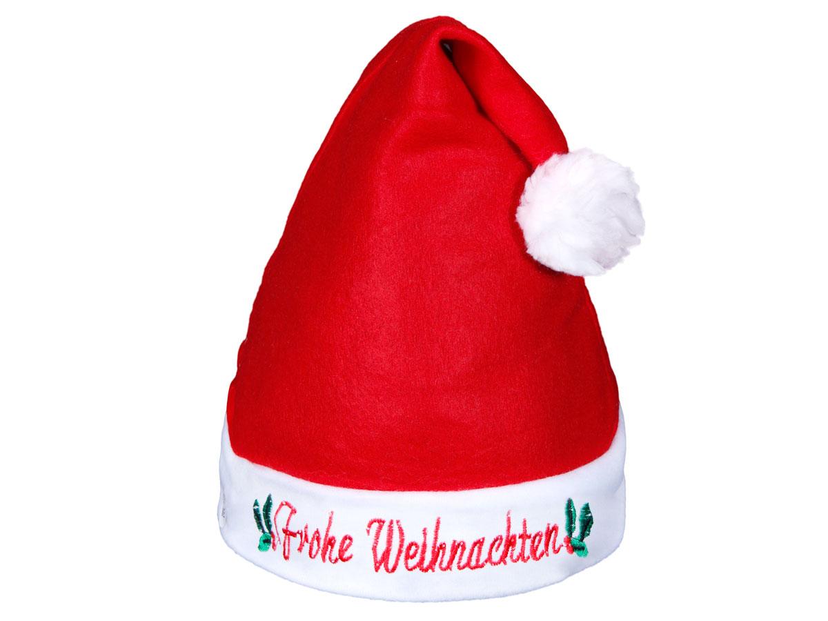 Joyeux Noel Mere Noel.Bonnet De Pere Mere Noel Lumineux A Led Clignotante Lux Tres Classe Alsino Wm 56 Avec L Inscription Frohe Weihnachten Joyeux Noel En Allemand