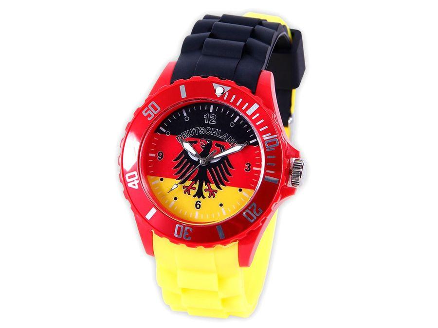 Armbanduhr WM EM Länder Silikon Uhren für Damen und Herren Silikonuhr von Alsino – Bild 18