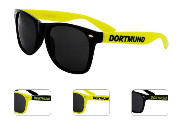 Dortmund Fanbrille als Sonnenbrille